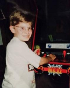 Chris Hatala Games Done Legit arcade kid