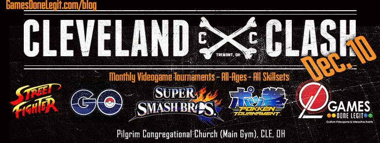 Cleveland Clash Tournament Smash Bros. Melee 4 Street Fighter Games Done Legit