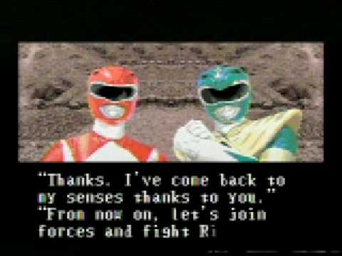 POwer Rangers VIdeogame