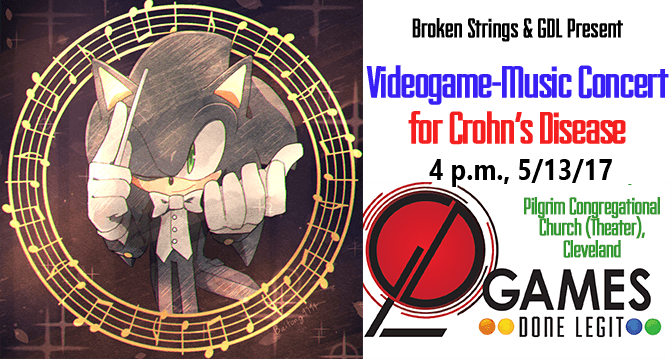 Sonic Broken Strings Games Done Legit concert